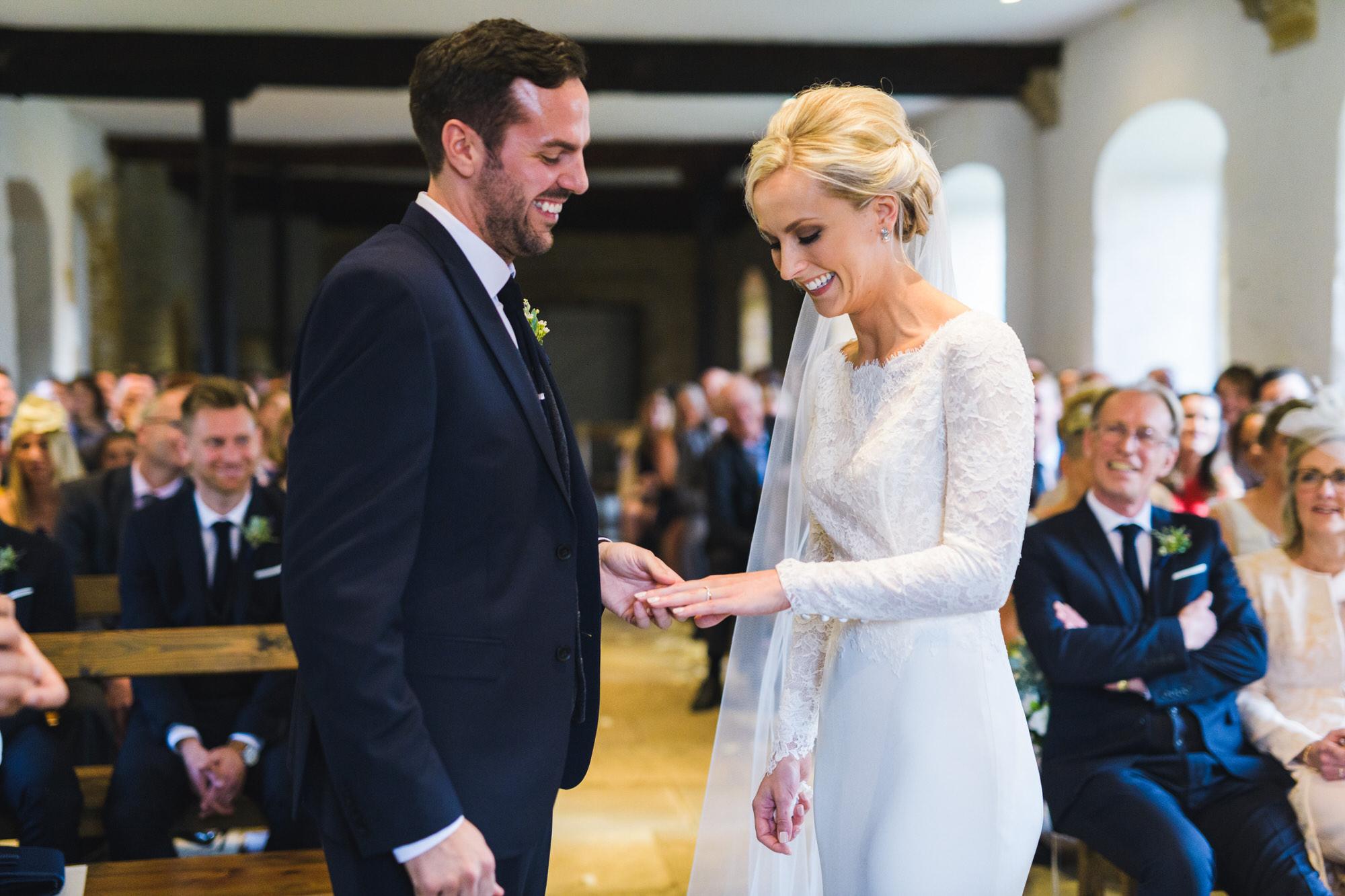 Brympton House wedding ceremony  by simon biffen photography 21