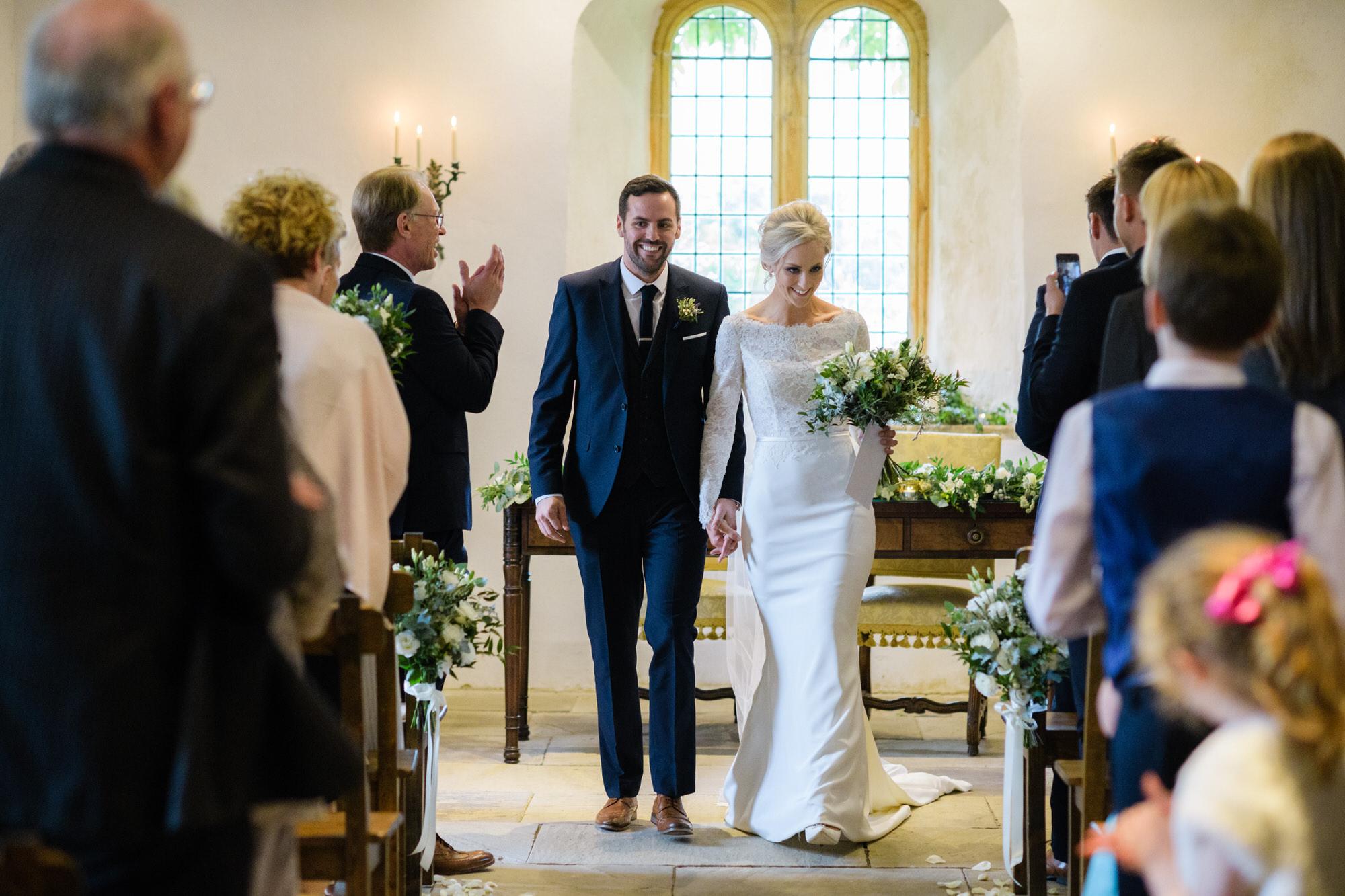 Brympton House wedding ceremony by simon biffen photography 22