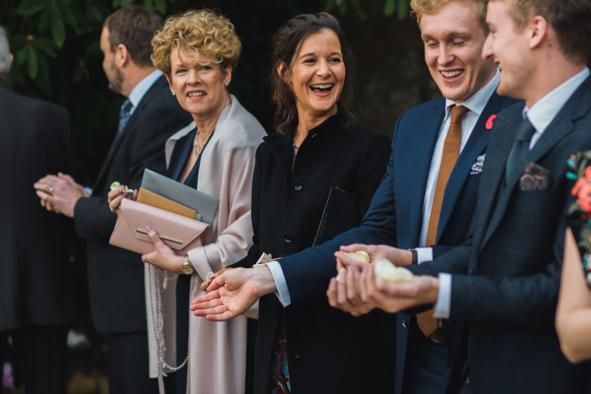 Brympton House wedding ceremony by simon biffen photography 23