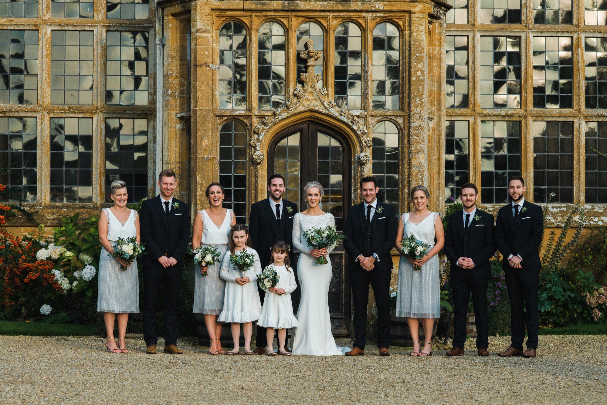 Brympton wedding group shot by simon biffen photography 26