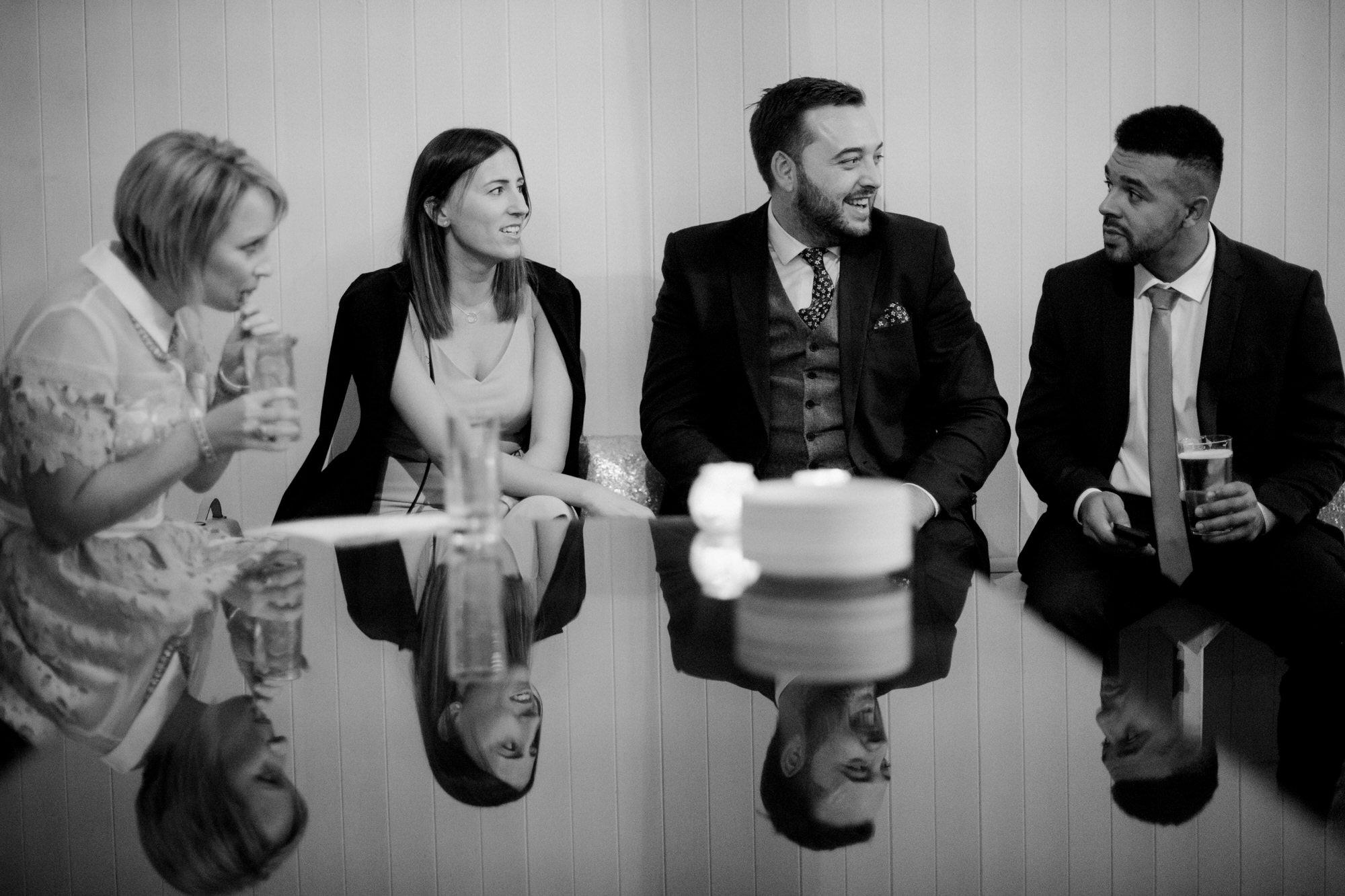Brympton wedding guests by simon biffen photography 43