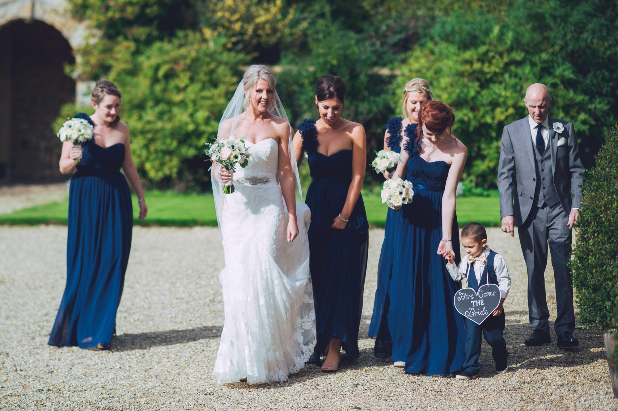 Real wedding Brympton house
