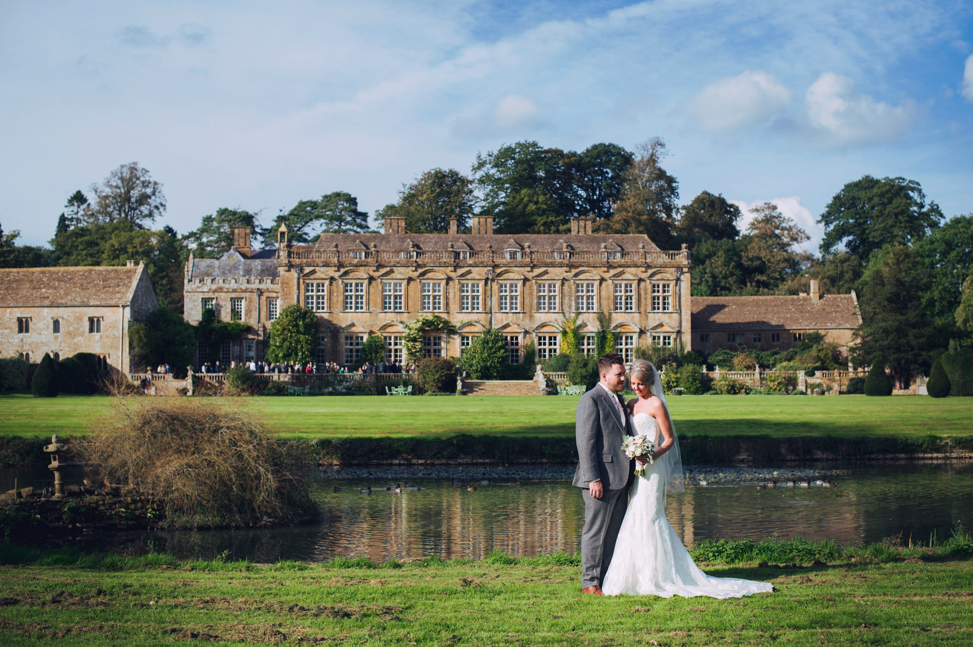 Documentary Brympton house wedding photography