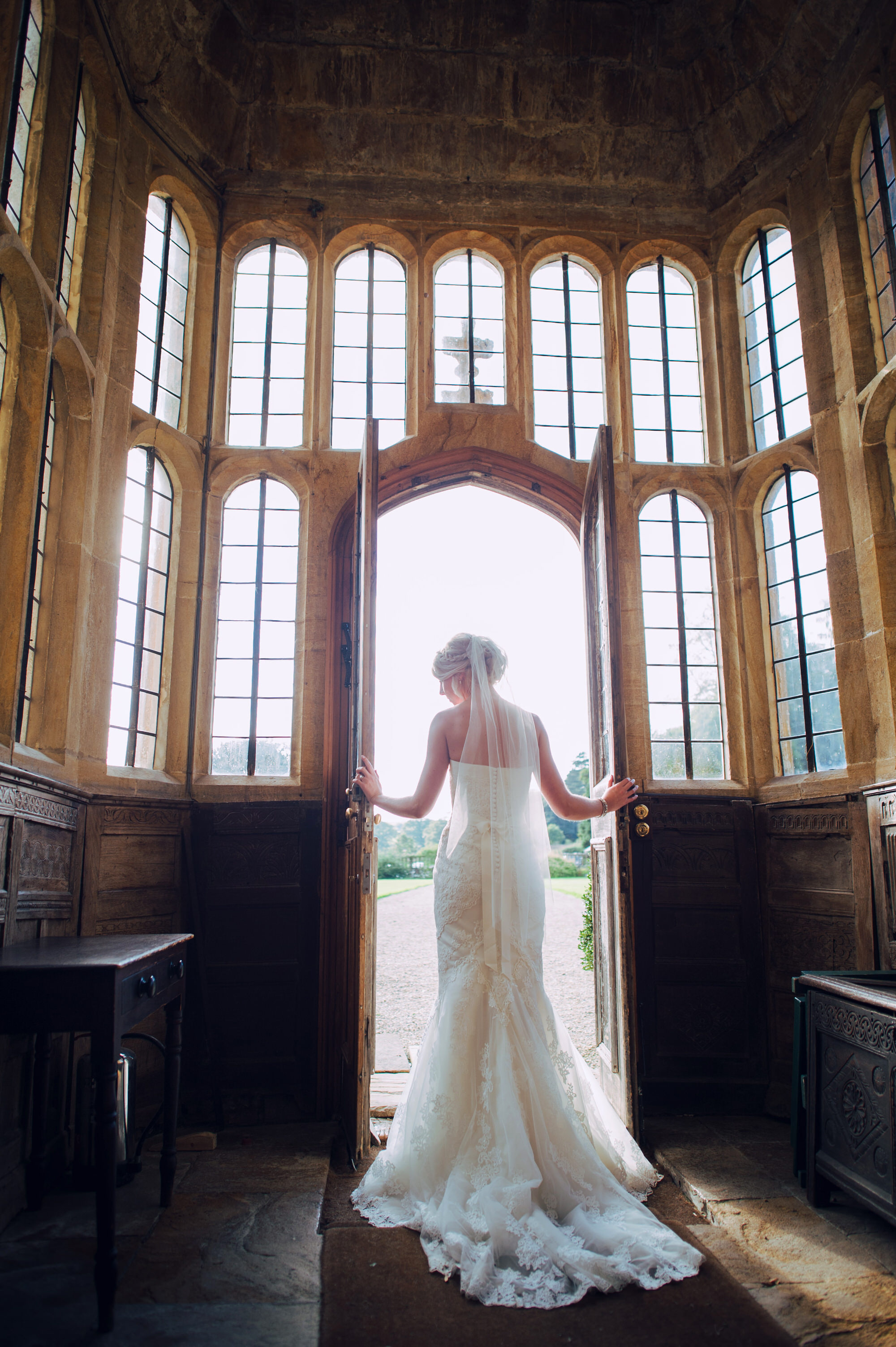 Bride at Brympton House