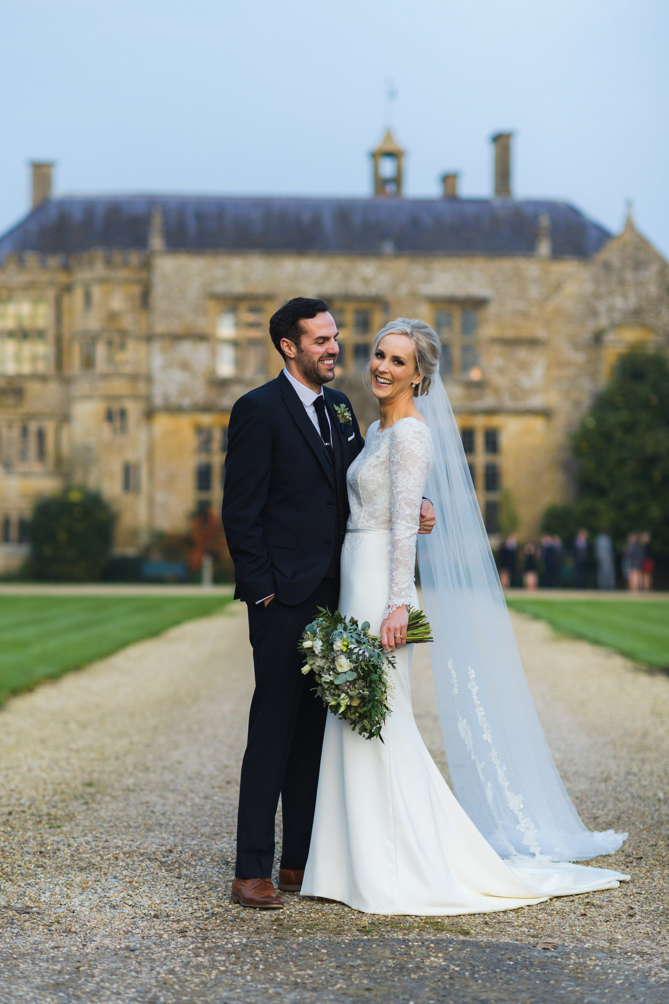 Wedding photography at Brympton house