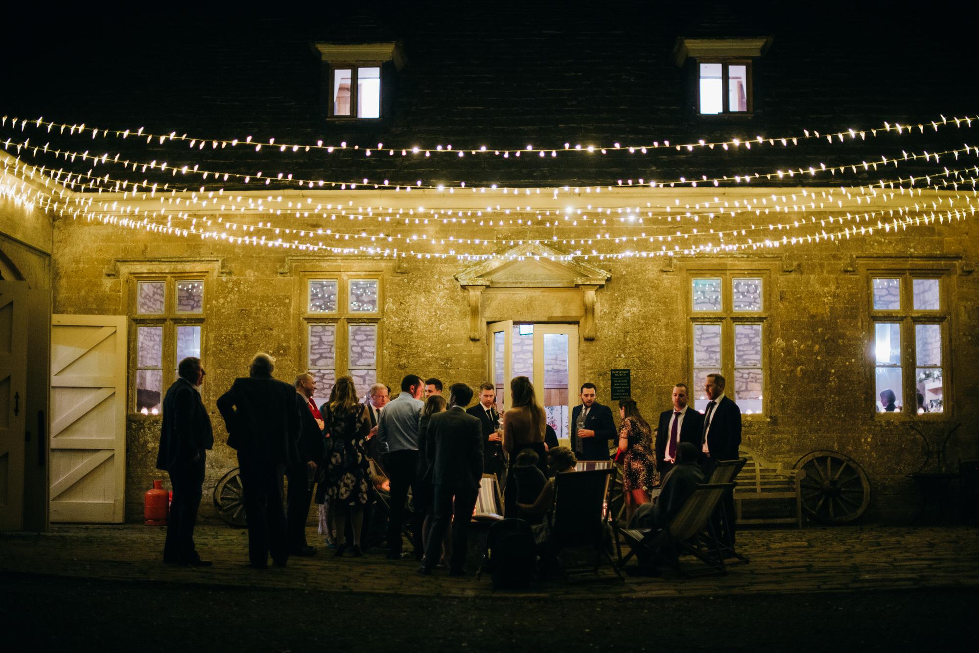 Brympton house evening reception