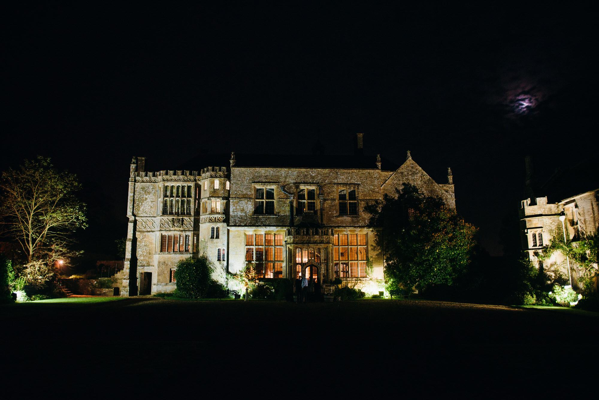 Night time at Brympton