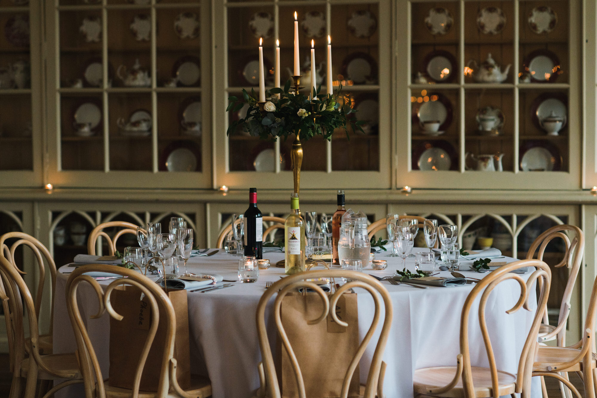 Brympton House dining room