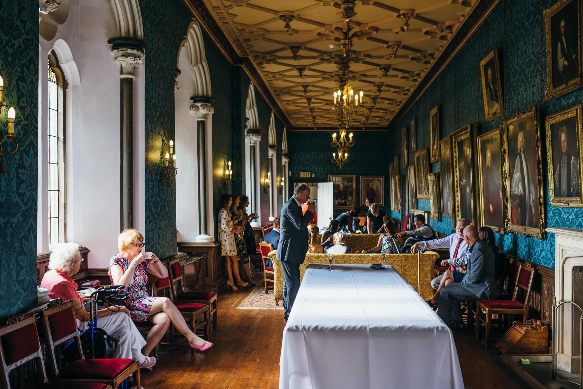 Bishops palace drawing room