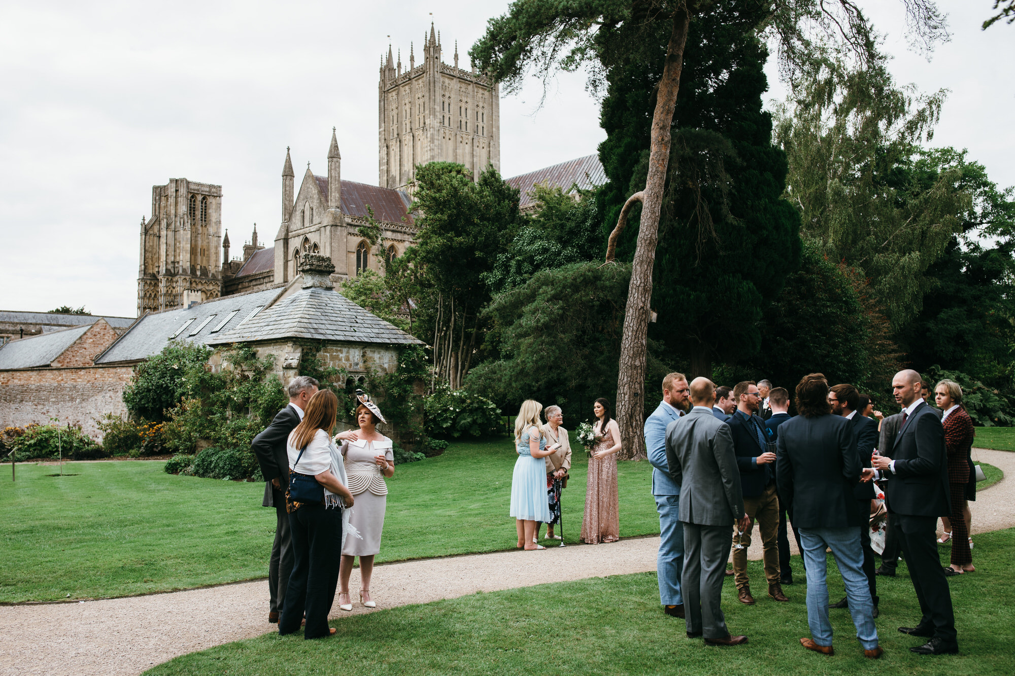 Bishops palace wedding photography