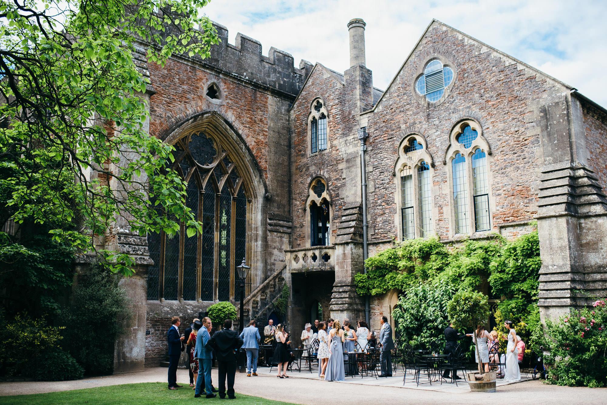 Wedding photography at Bishops Palace