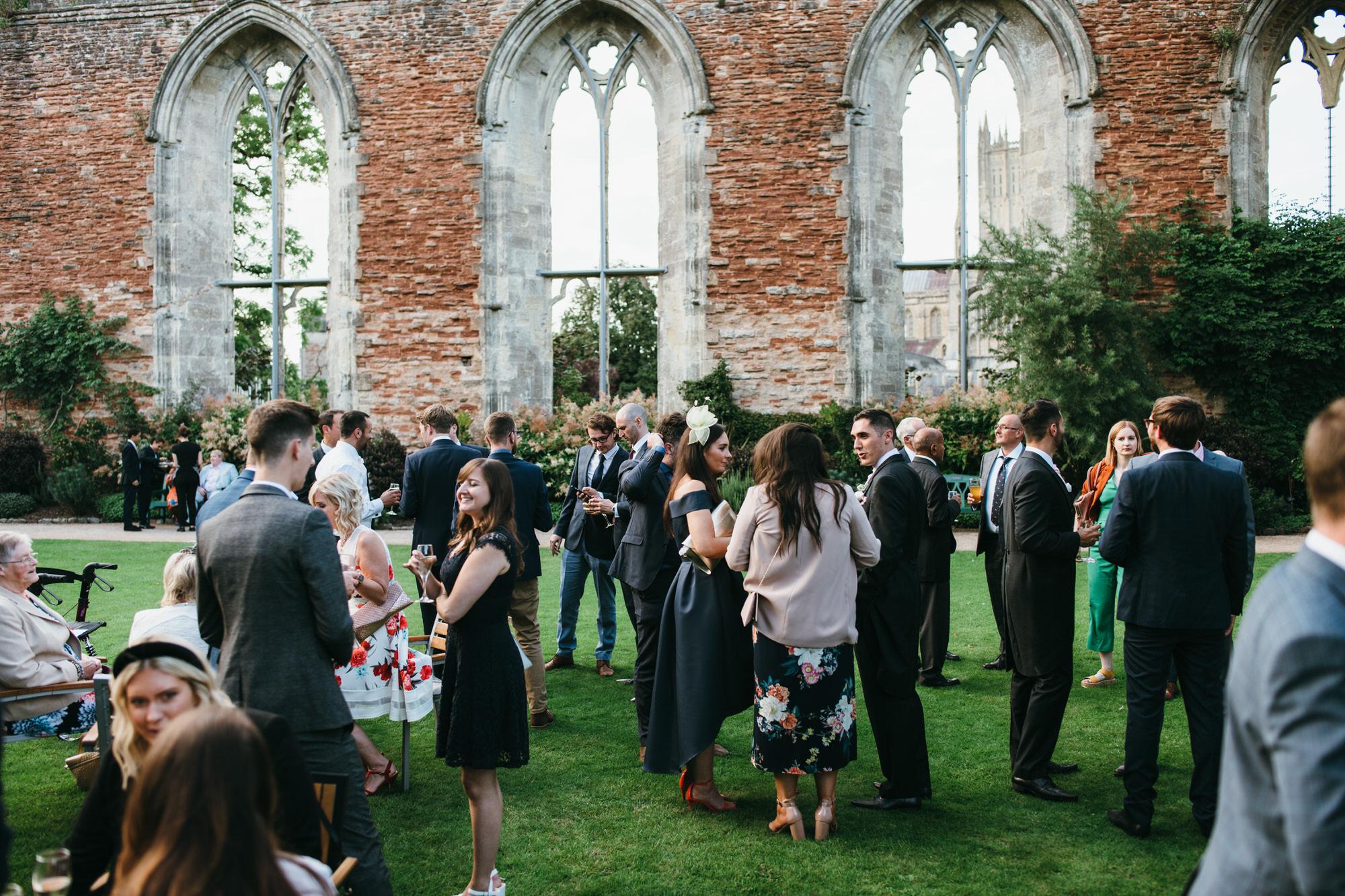 Bishops palace wedding venue Somerset