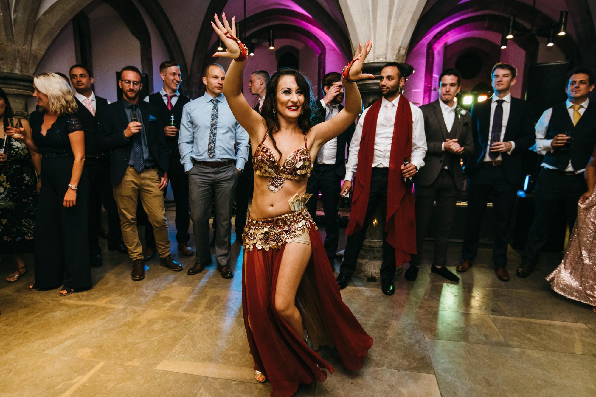 Bishops palace wedding dancing