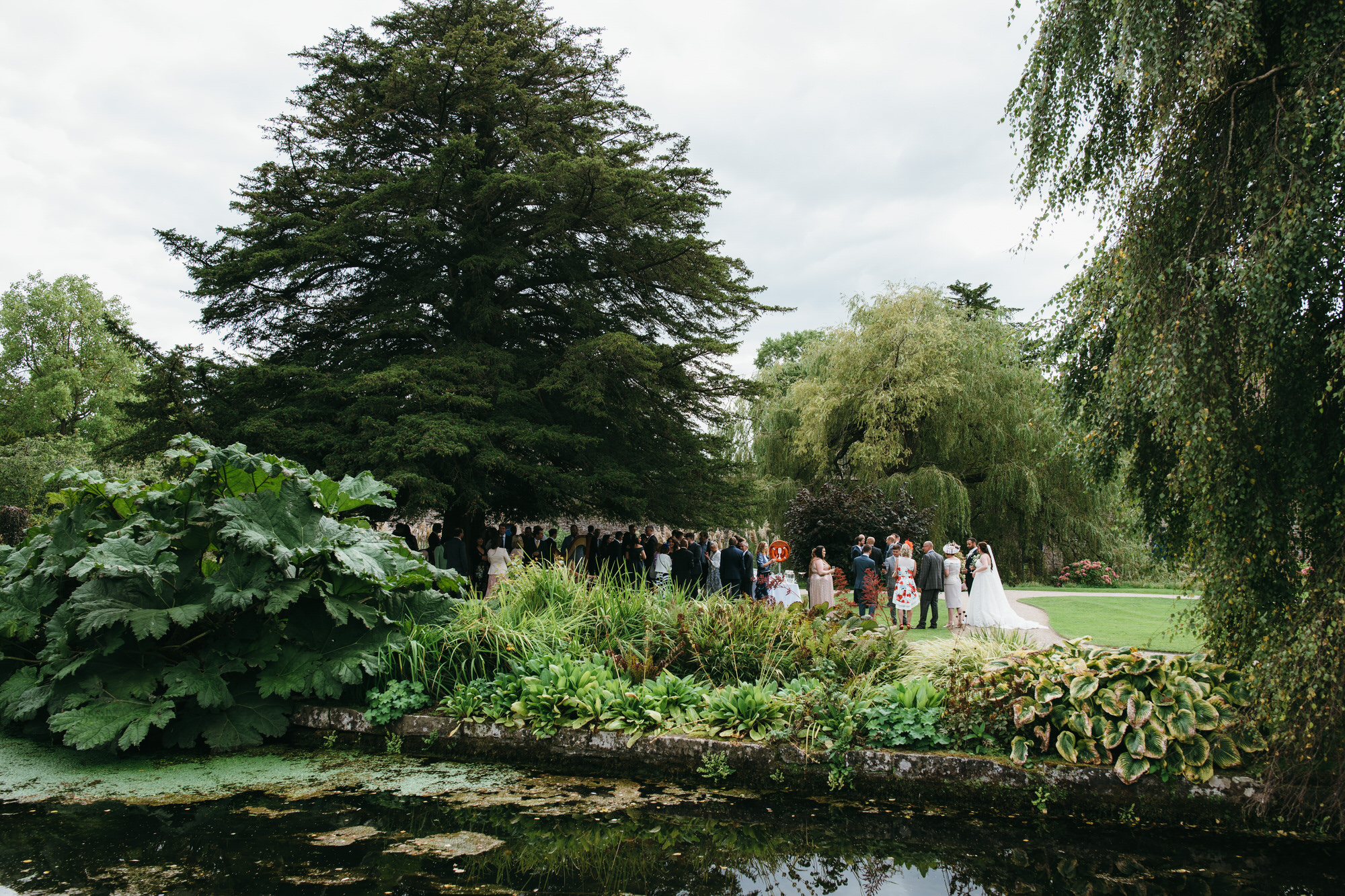 Bishops Palace Wells wedding reception