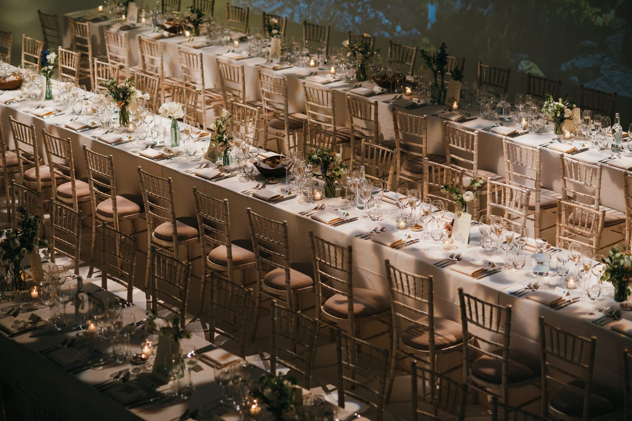 Sunbeam studios wedding tables