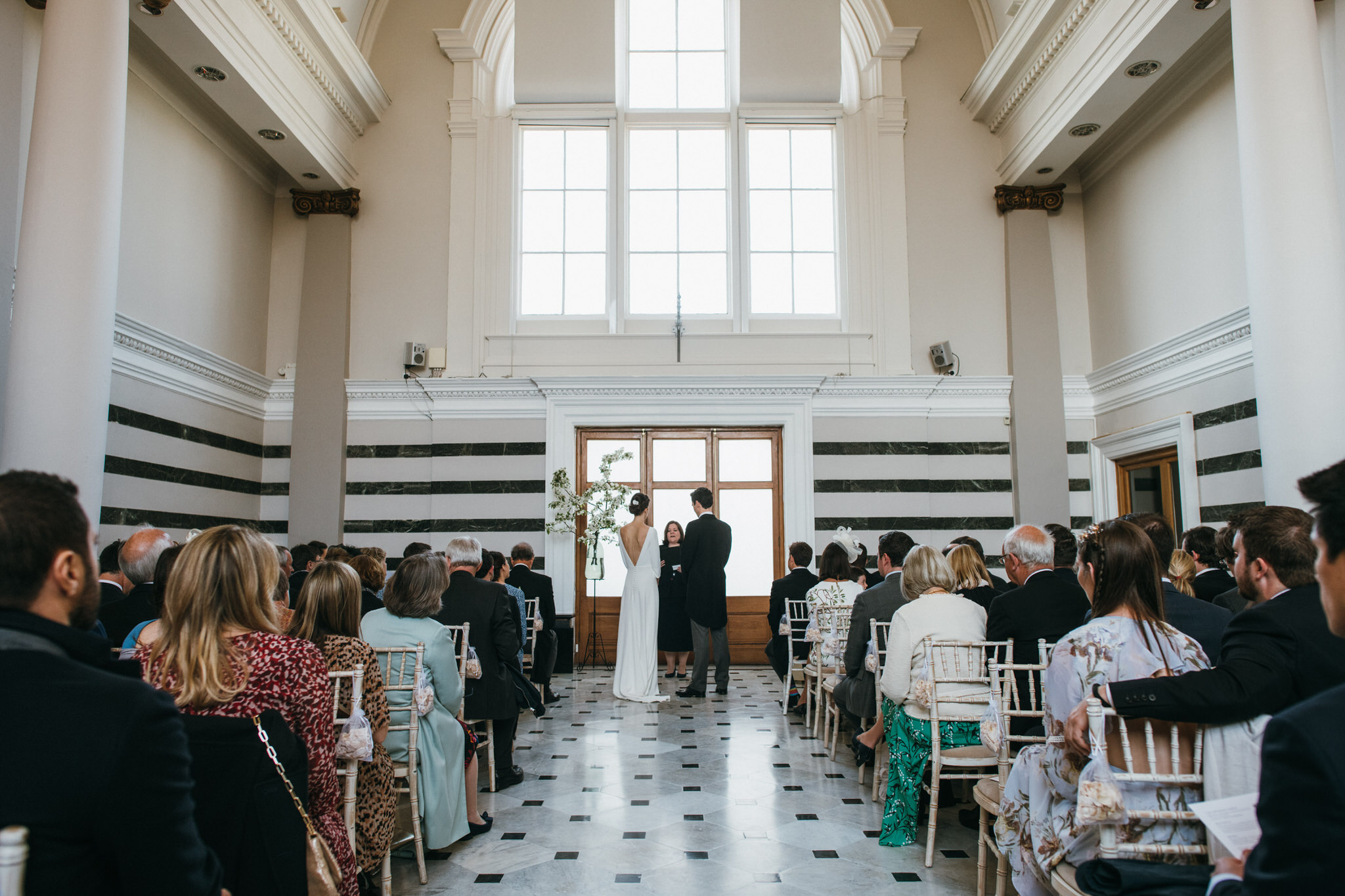 sunbeam studio wedding ceremony