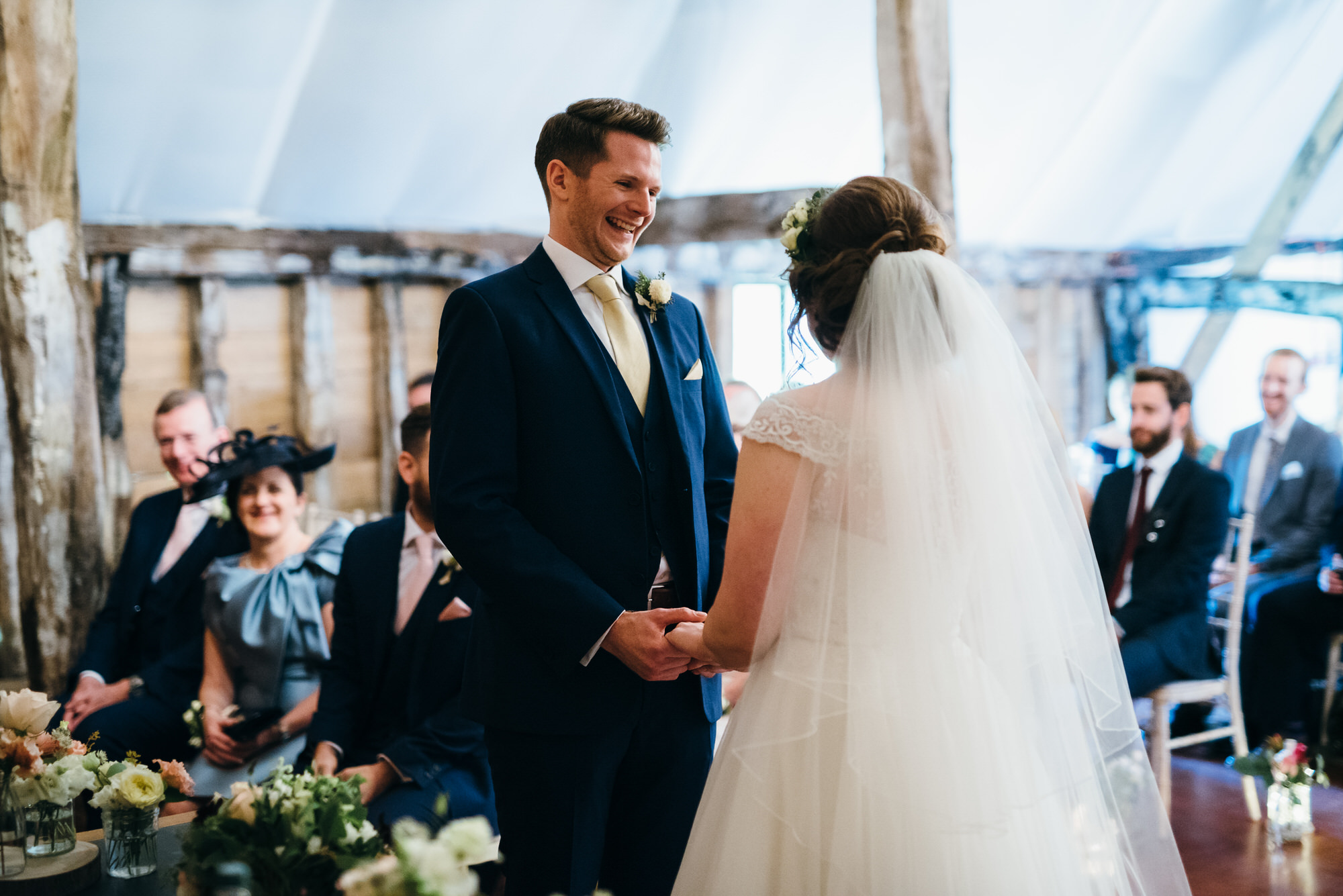 Colville hall wedding ceremony vows