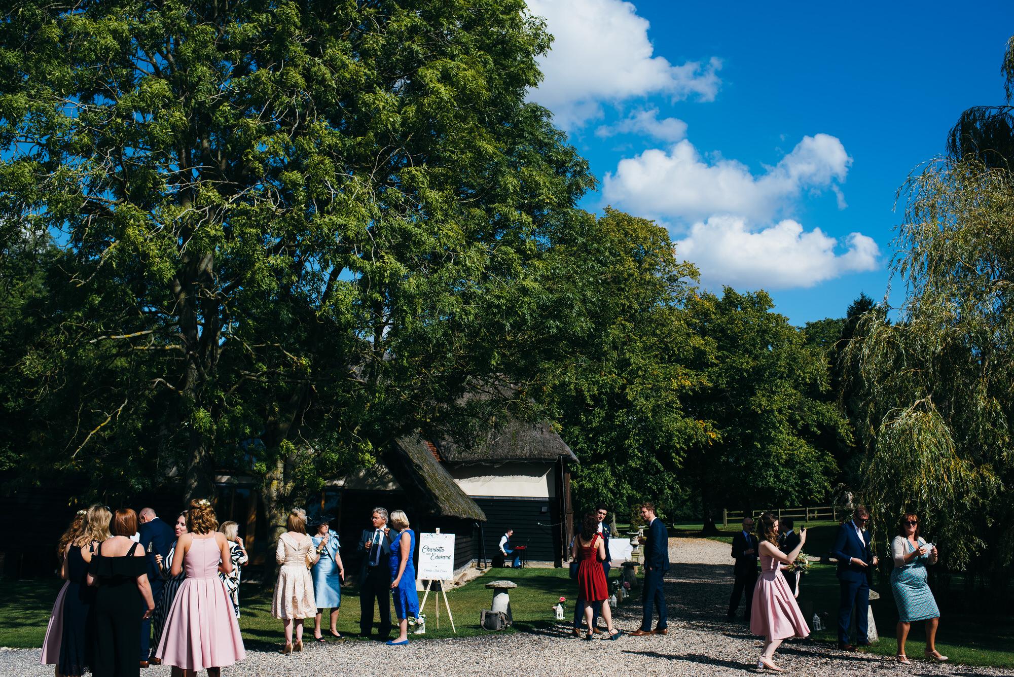 Colville hall wedding reception