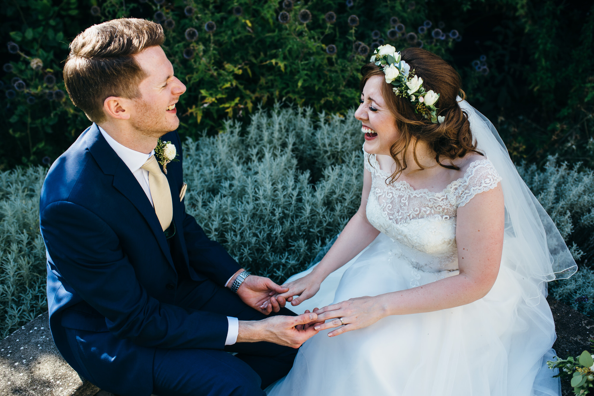 Natural wedding photography at Colville hall