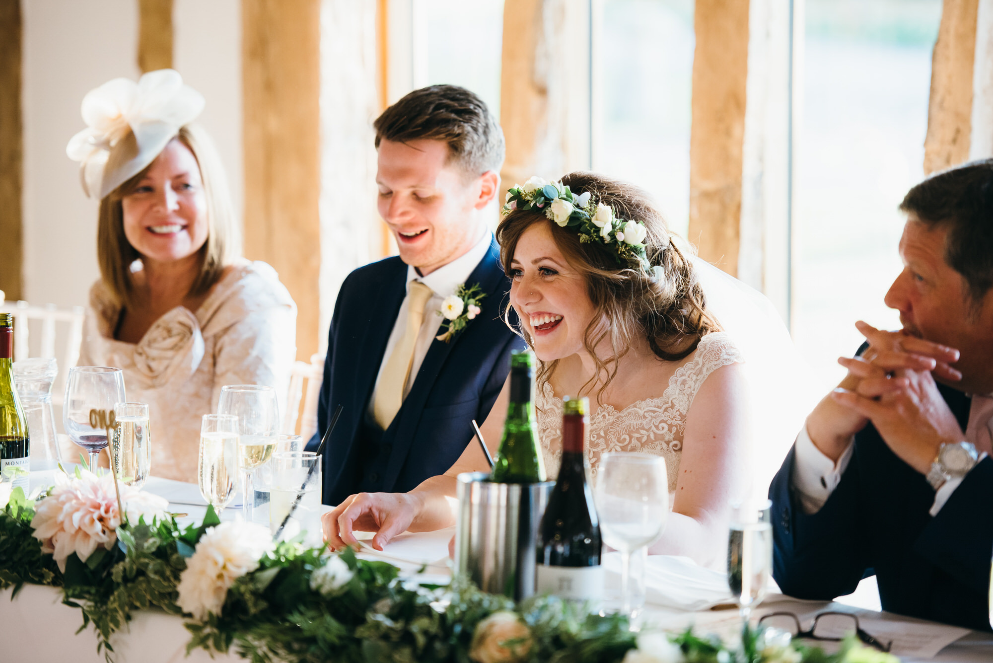 Colville hall wedding speeches
