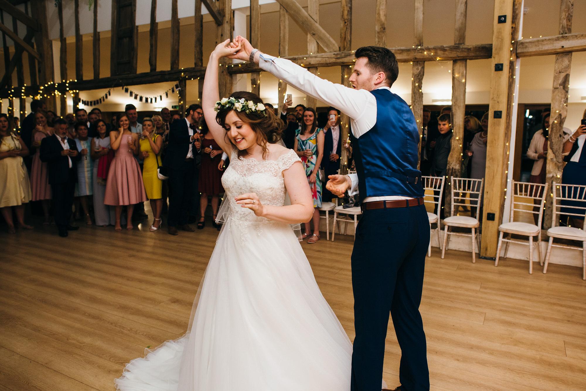 Colville hall wedding first dance