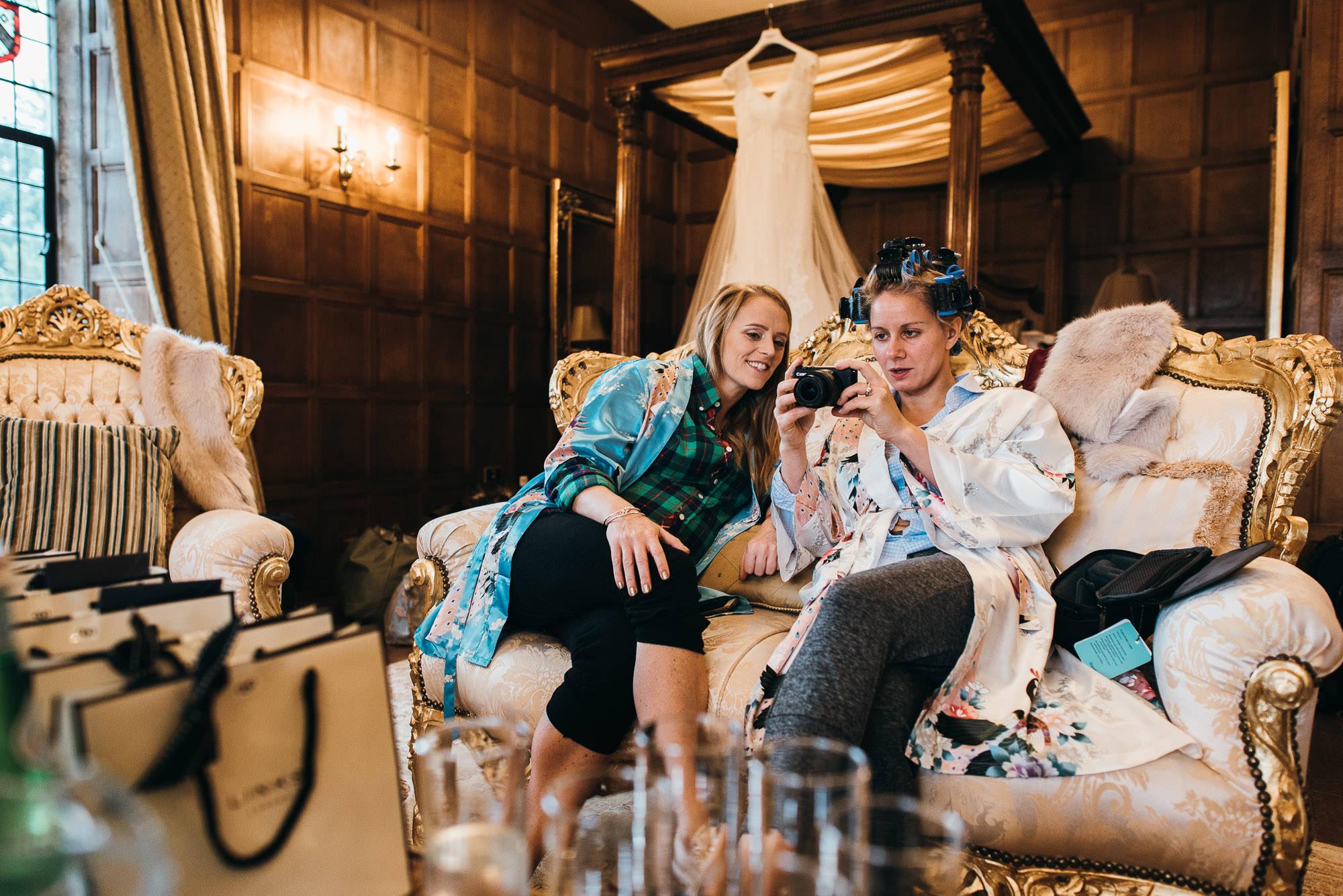 Hengrave hall bride prep