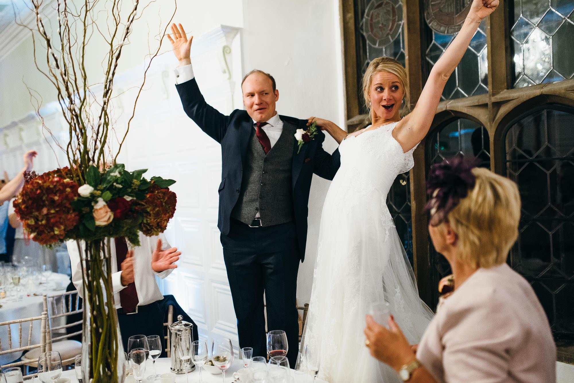 Hengrave hall wedding speeches