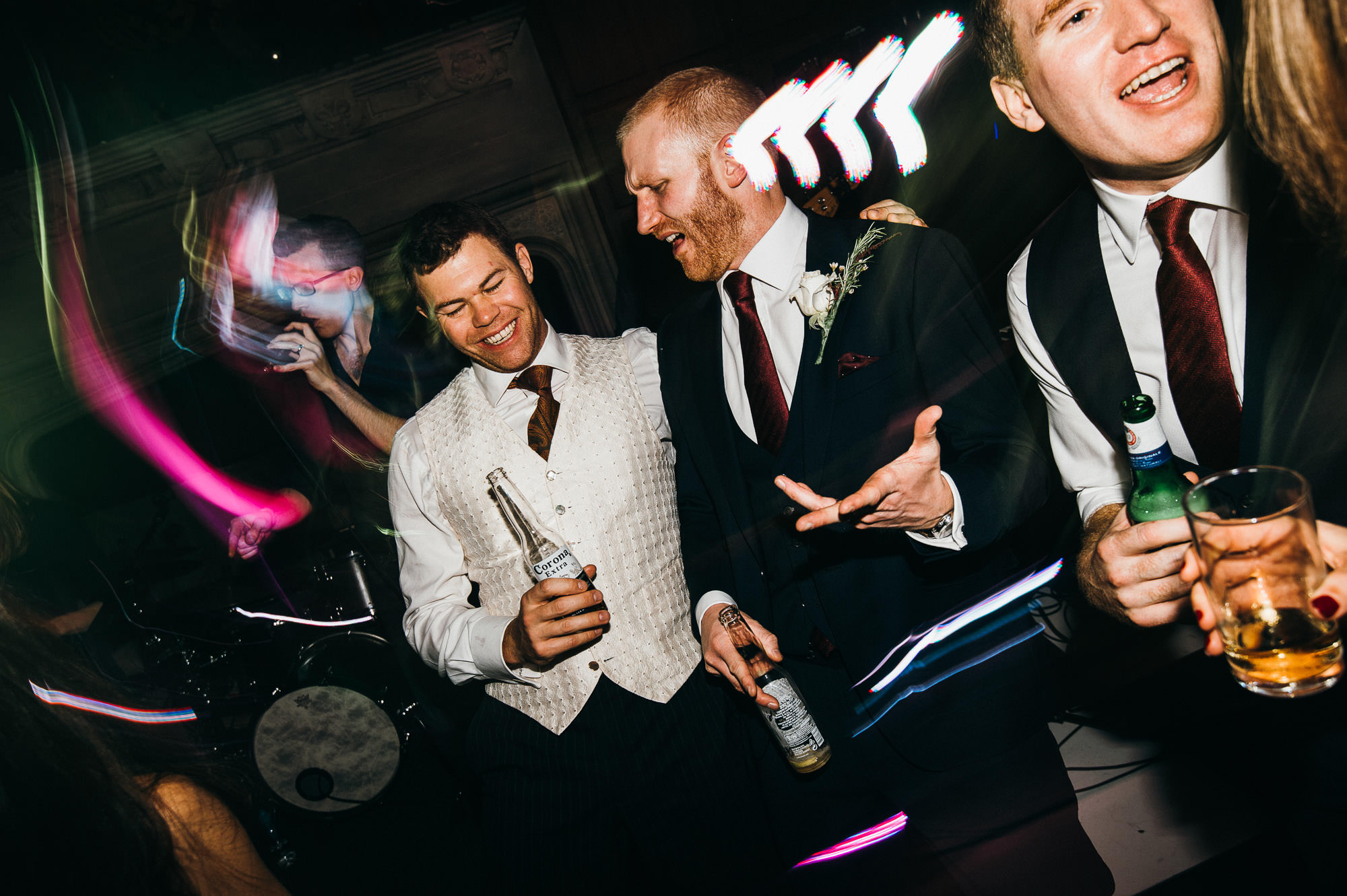 Party at Hengrave Hall wedding