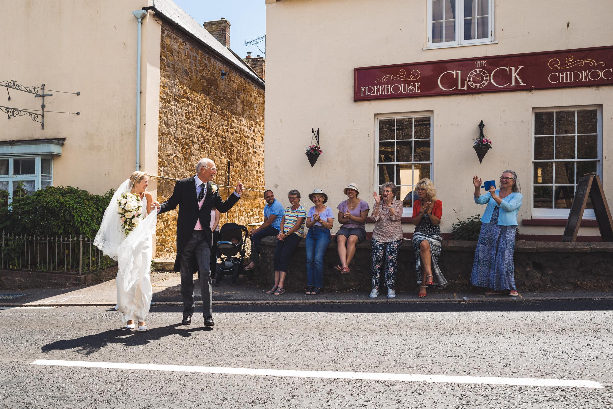 Dorset marquee wedding by the sea simon biffen photography 13