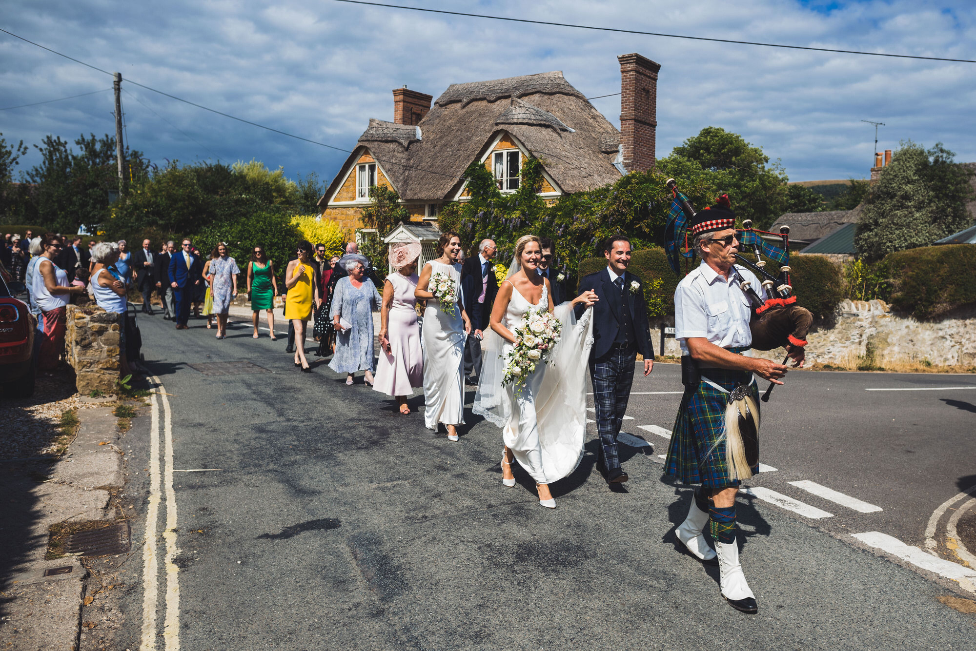Dorset marquee wedding by the sea simon biffen photography 21