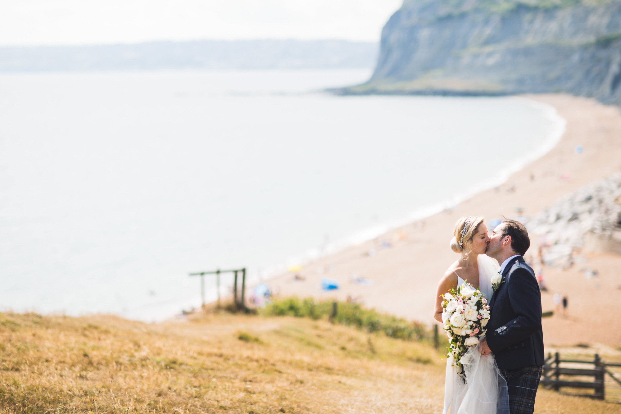Dorset marquee wedding by the sea simon biffen photography 26