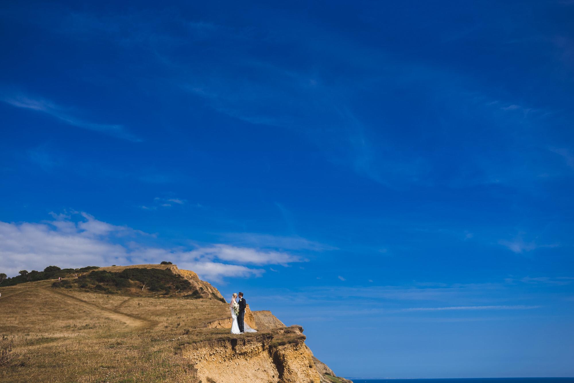 Dorset marquee wedding by the sea simon biffen photography 28