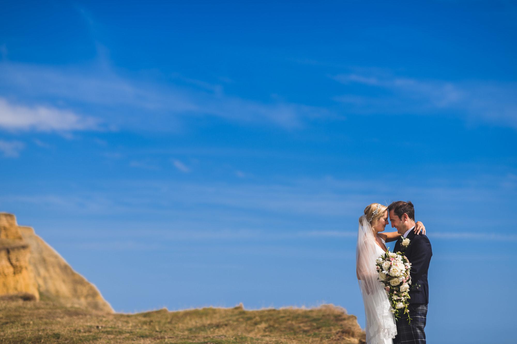 Dorset marquee wedding by the sea simon biffen photography 29