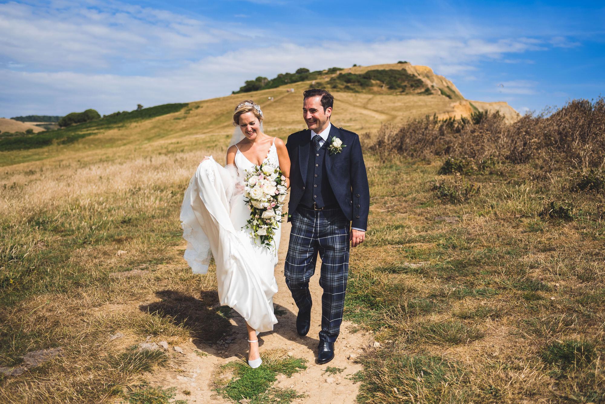 Dorset marquee wedding by the sea simon biffen photography 32