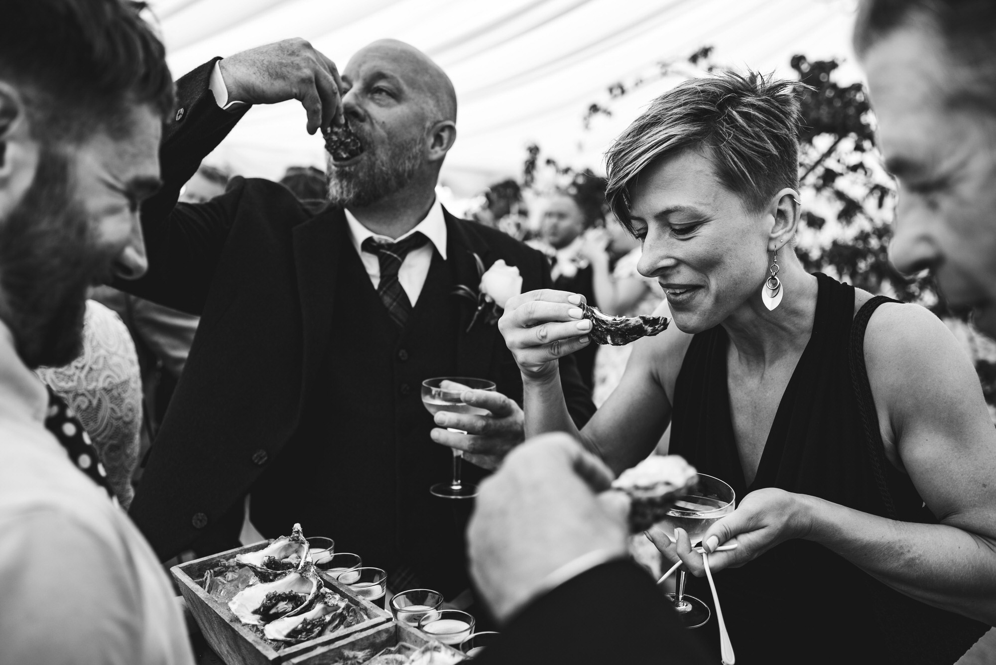 Dorset marquee wedding by the sea simon biffen photography 35