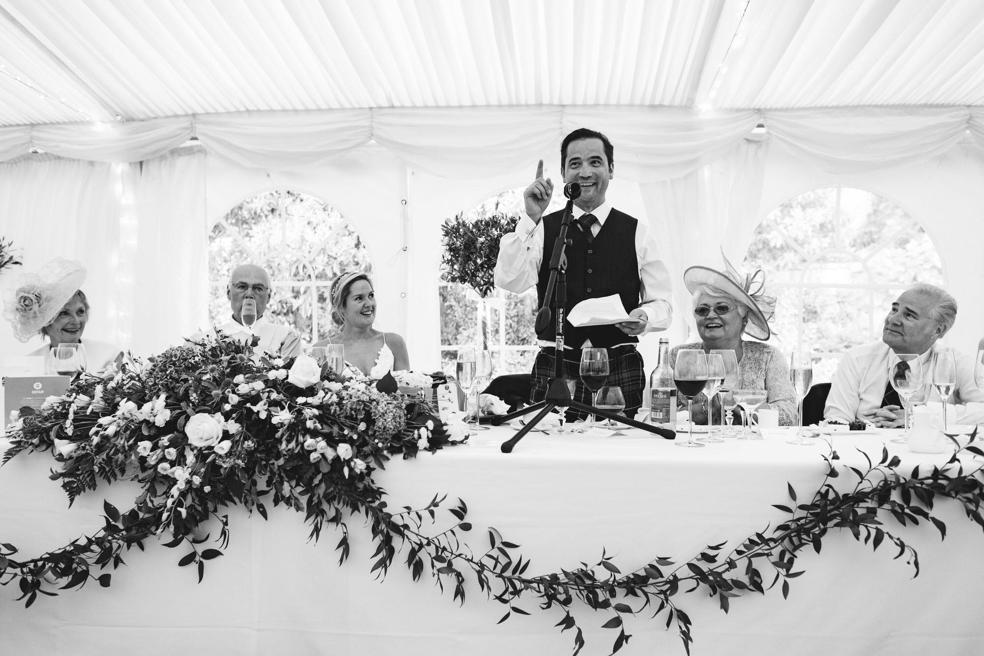 Dorset marquee wedding by the sea simon biffen photography 44