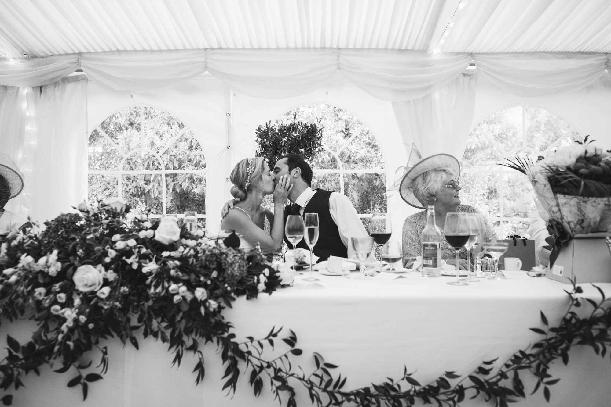 Dorset marquee wedding by the sea simon biffen photography 46