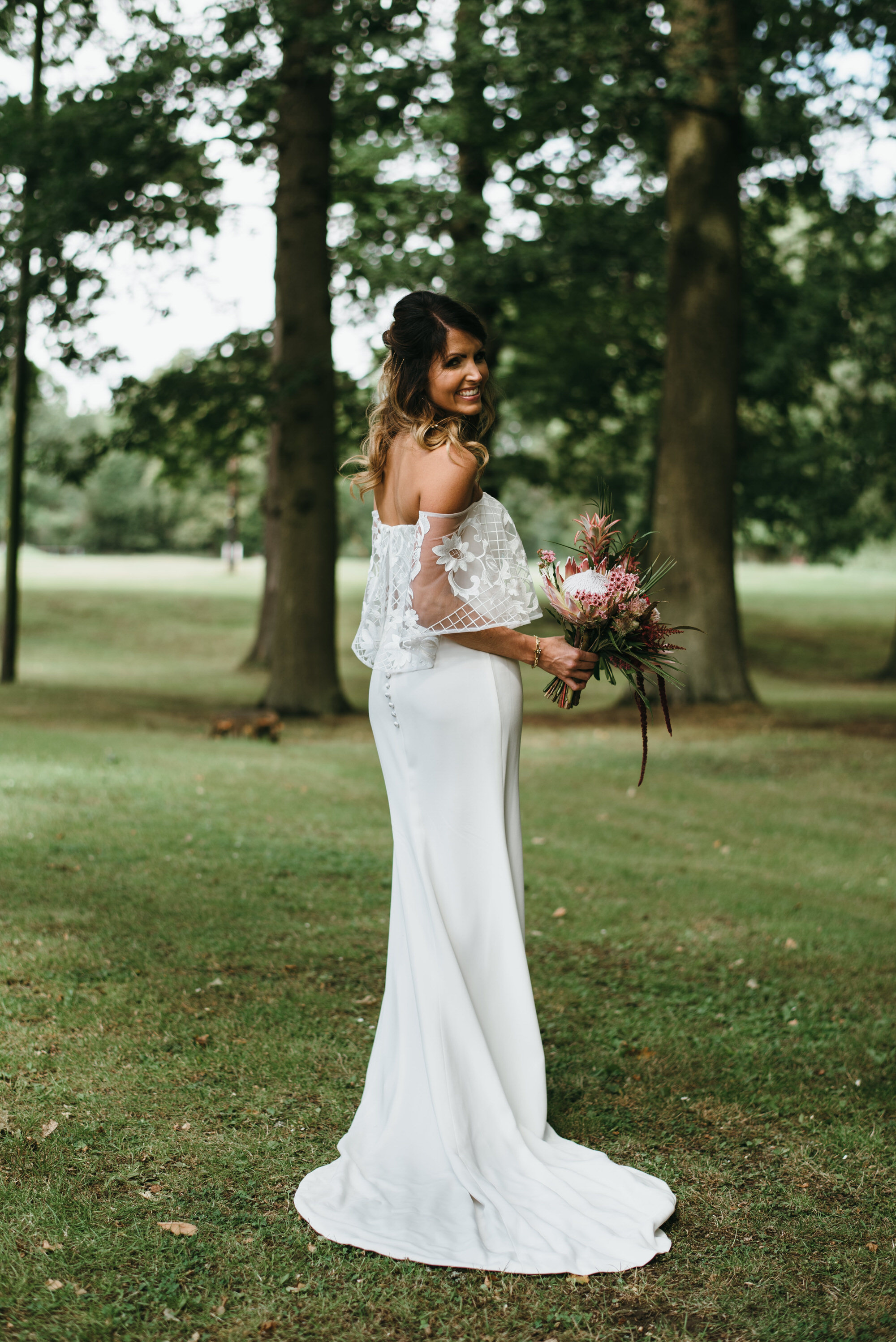Marquise Bridal by halo and wren wedding dress