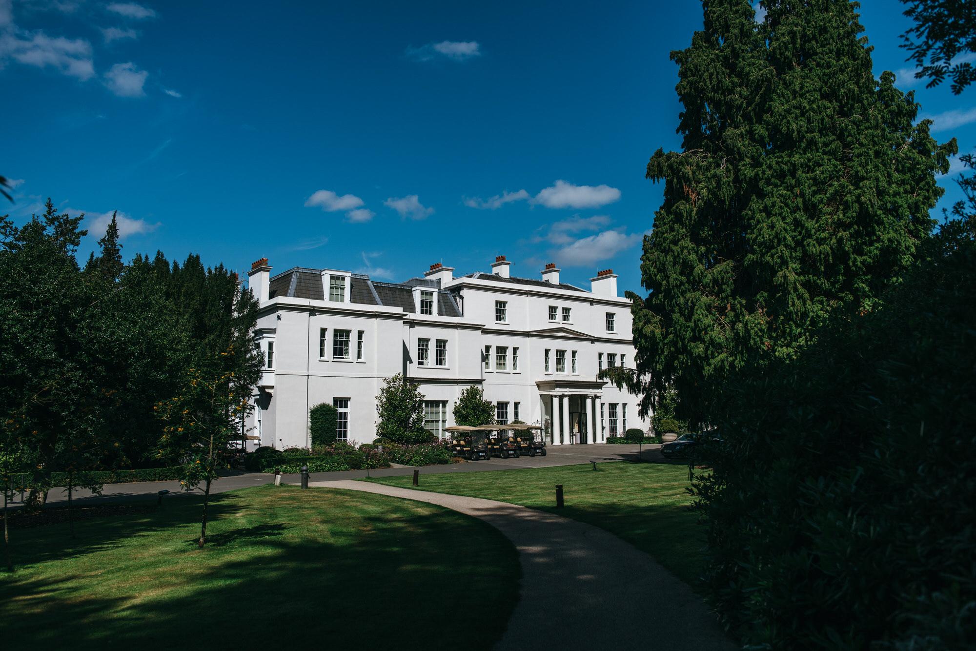 Coworth park wedding venue