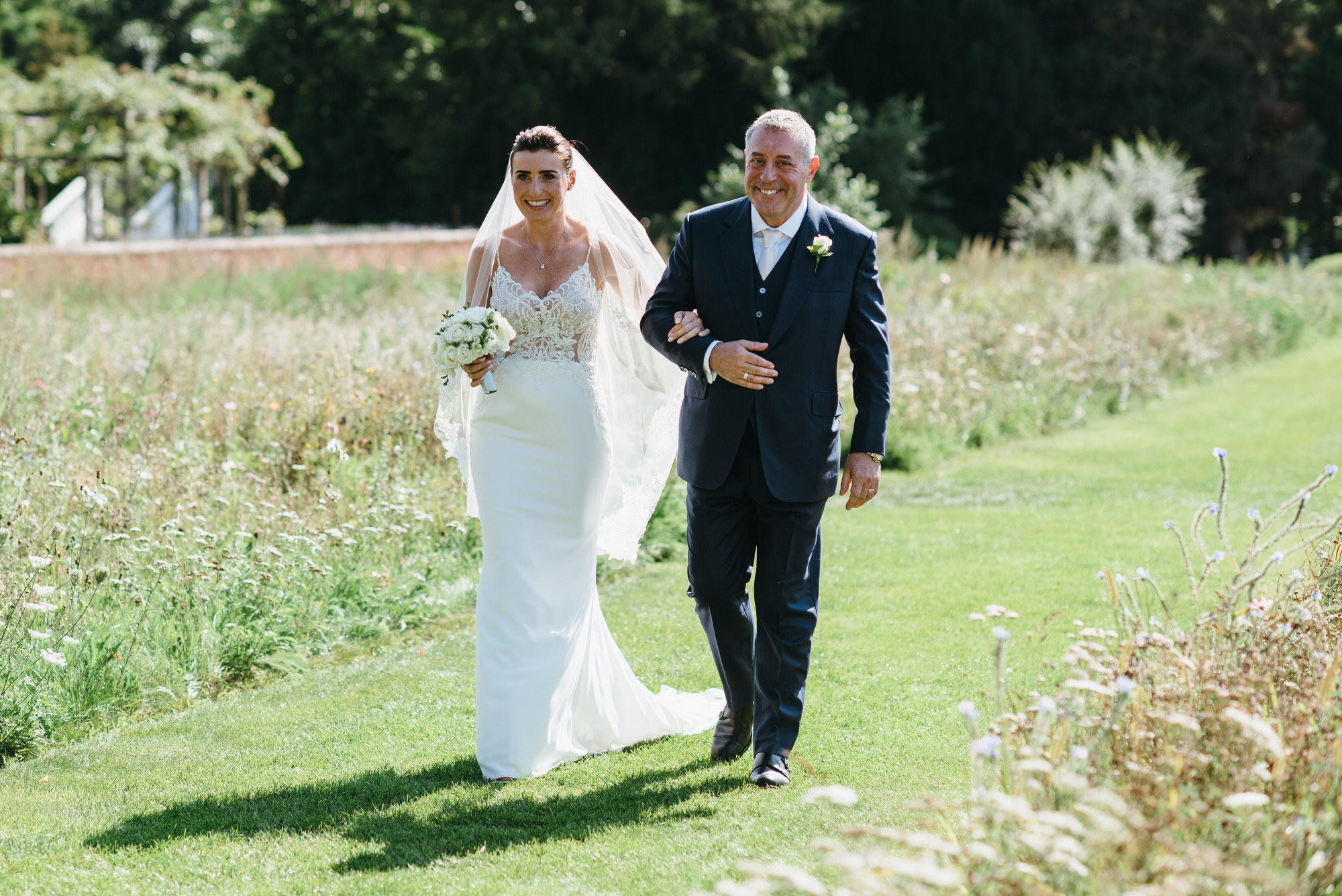 Coworth park outdoor wedding photographer-26