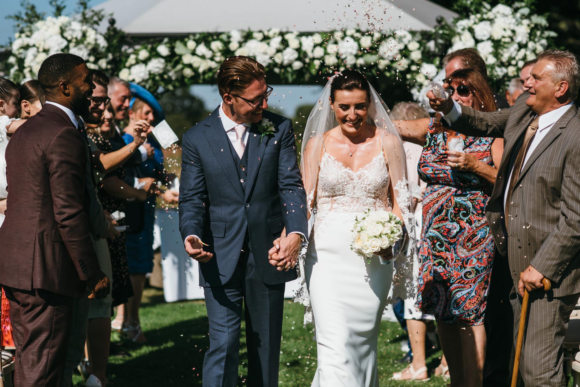 Confetti Coworth Park wedding