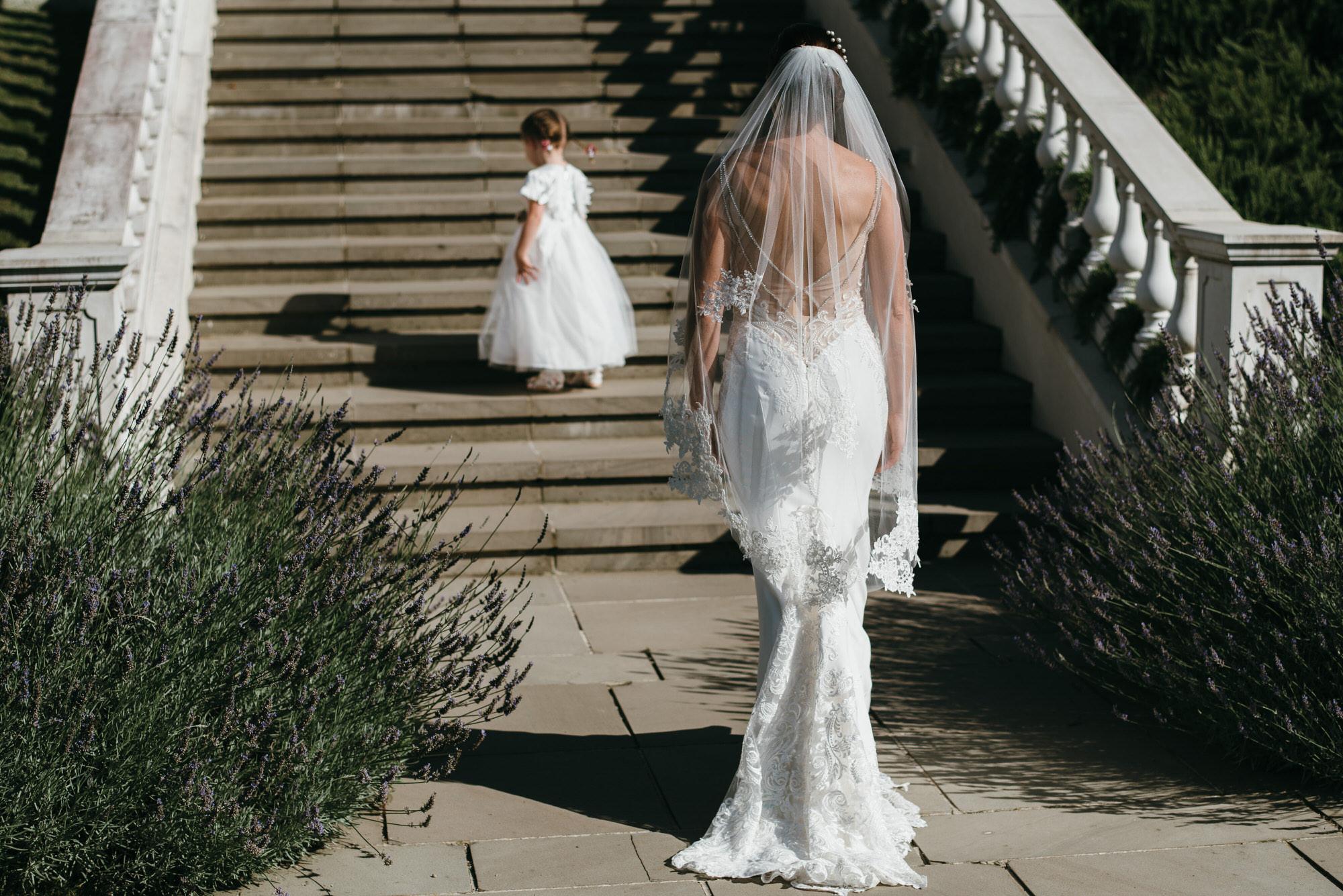 Bride at Coworth Park Berkshire