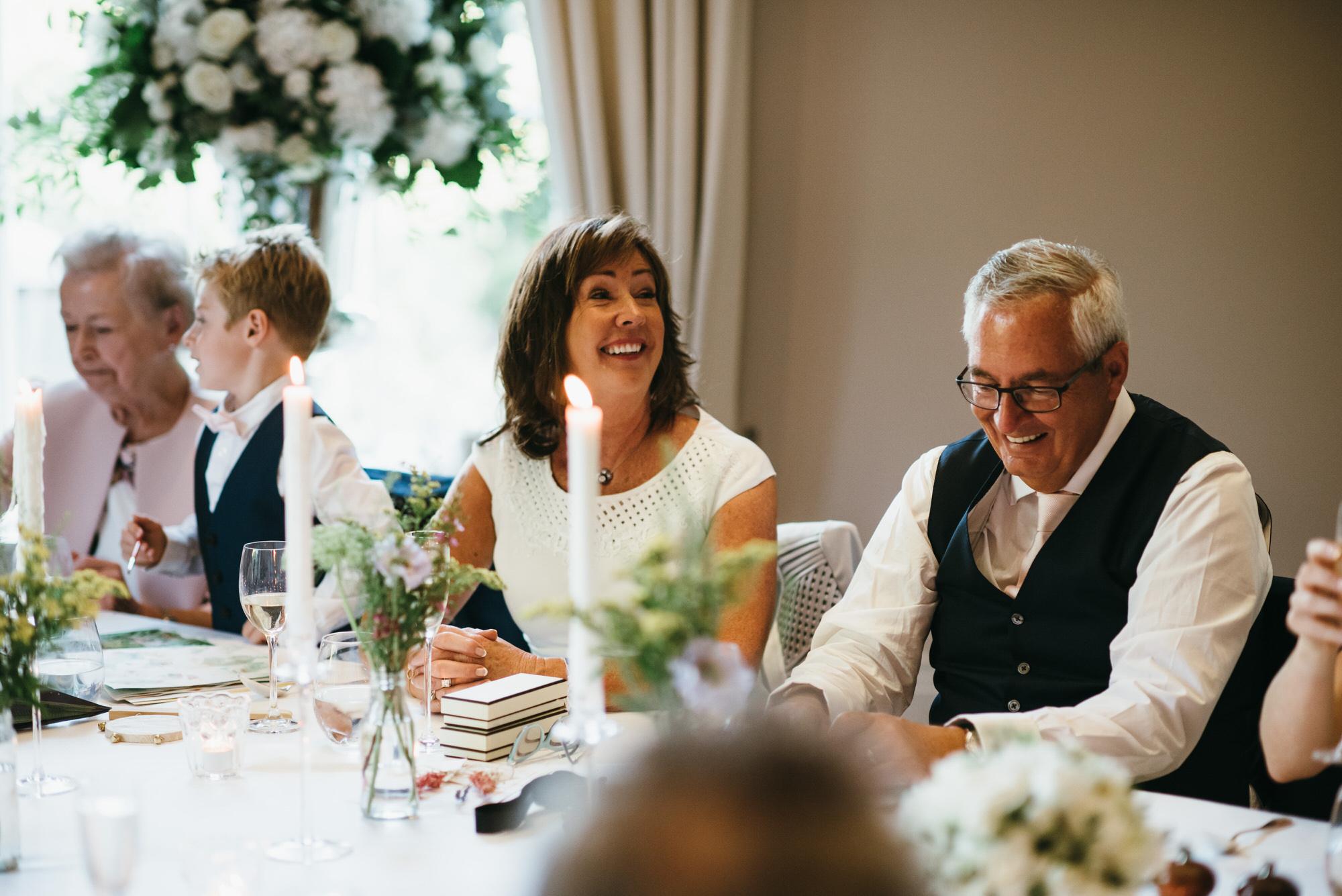 Coworth park speeches at wedding