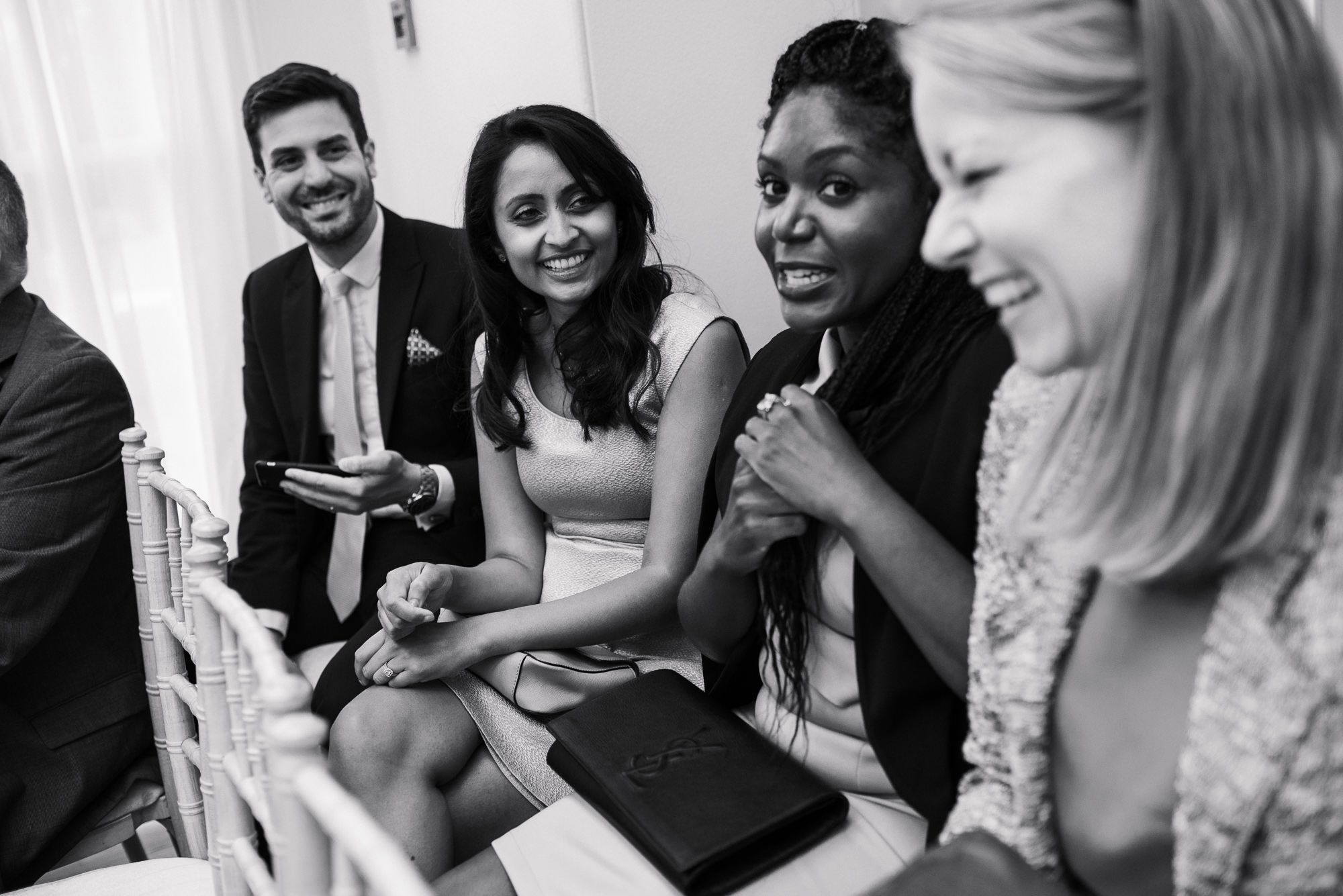 Pembroke lodge wedding guests