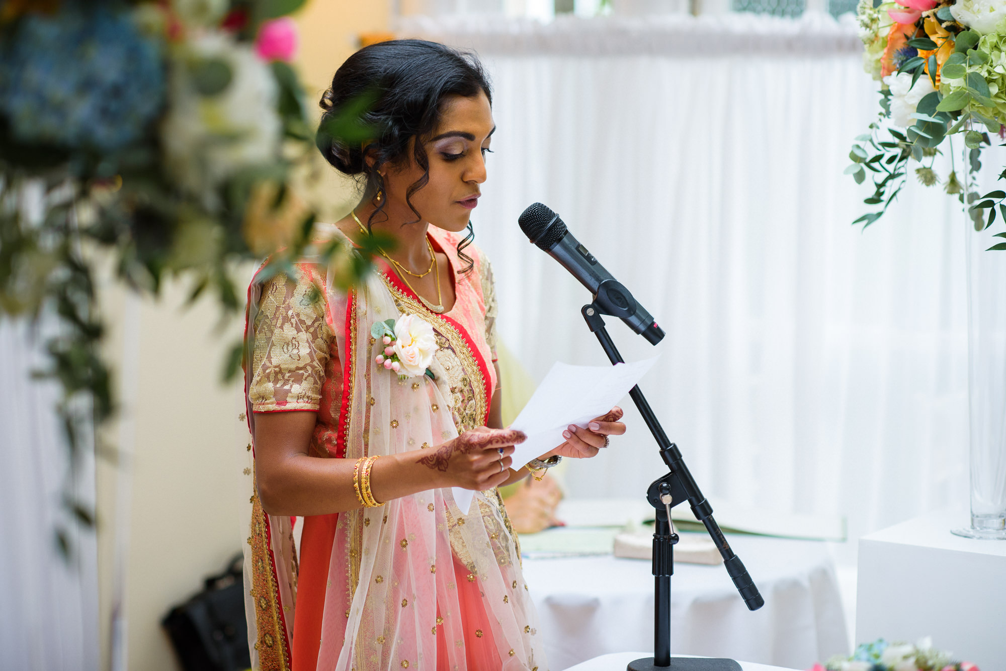 Pembroke lodge indian wedding ceremony