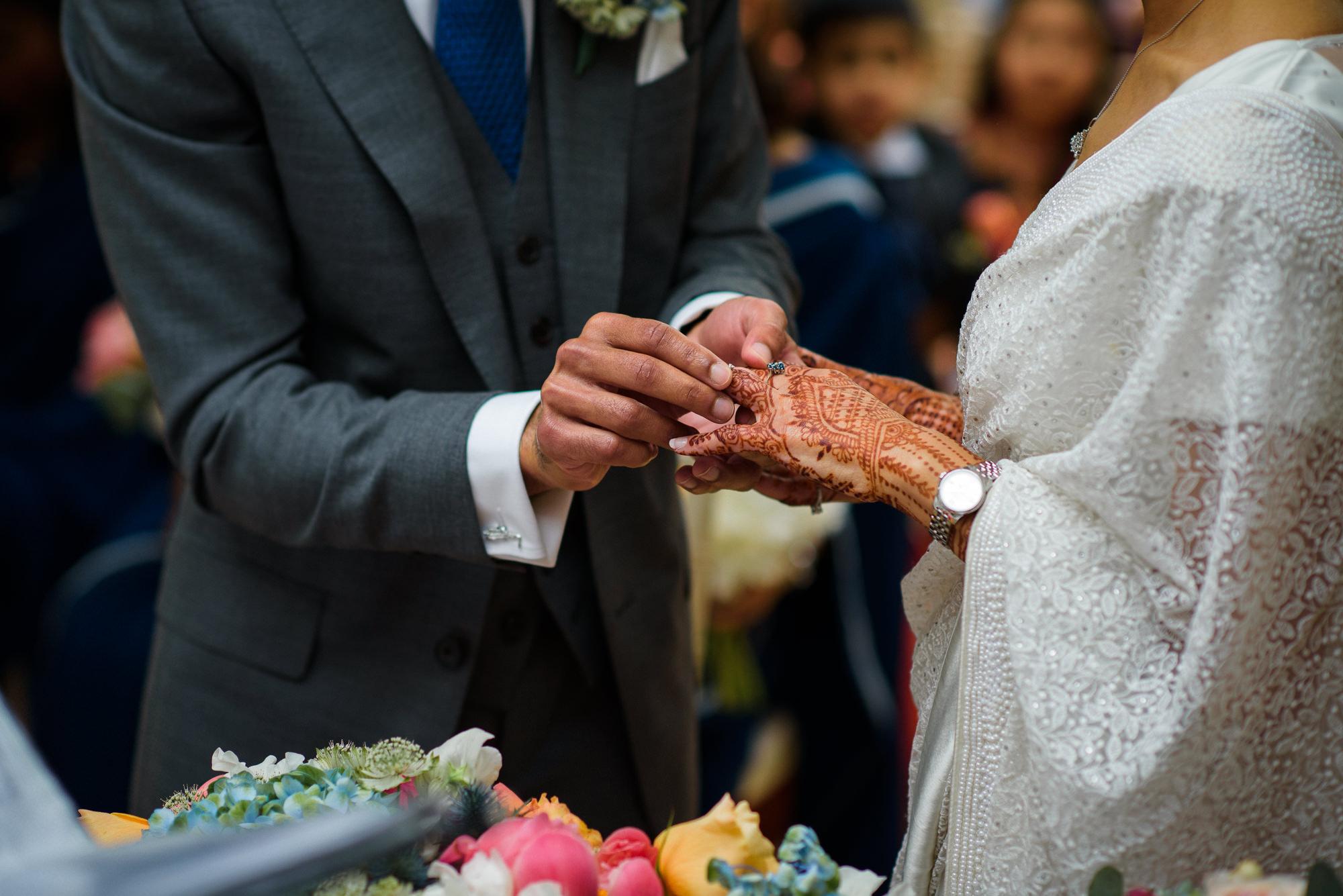 Wedding ceremony Pembroke Lodge