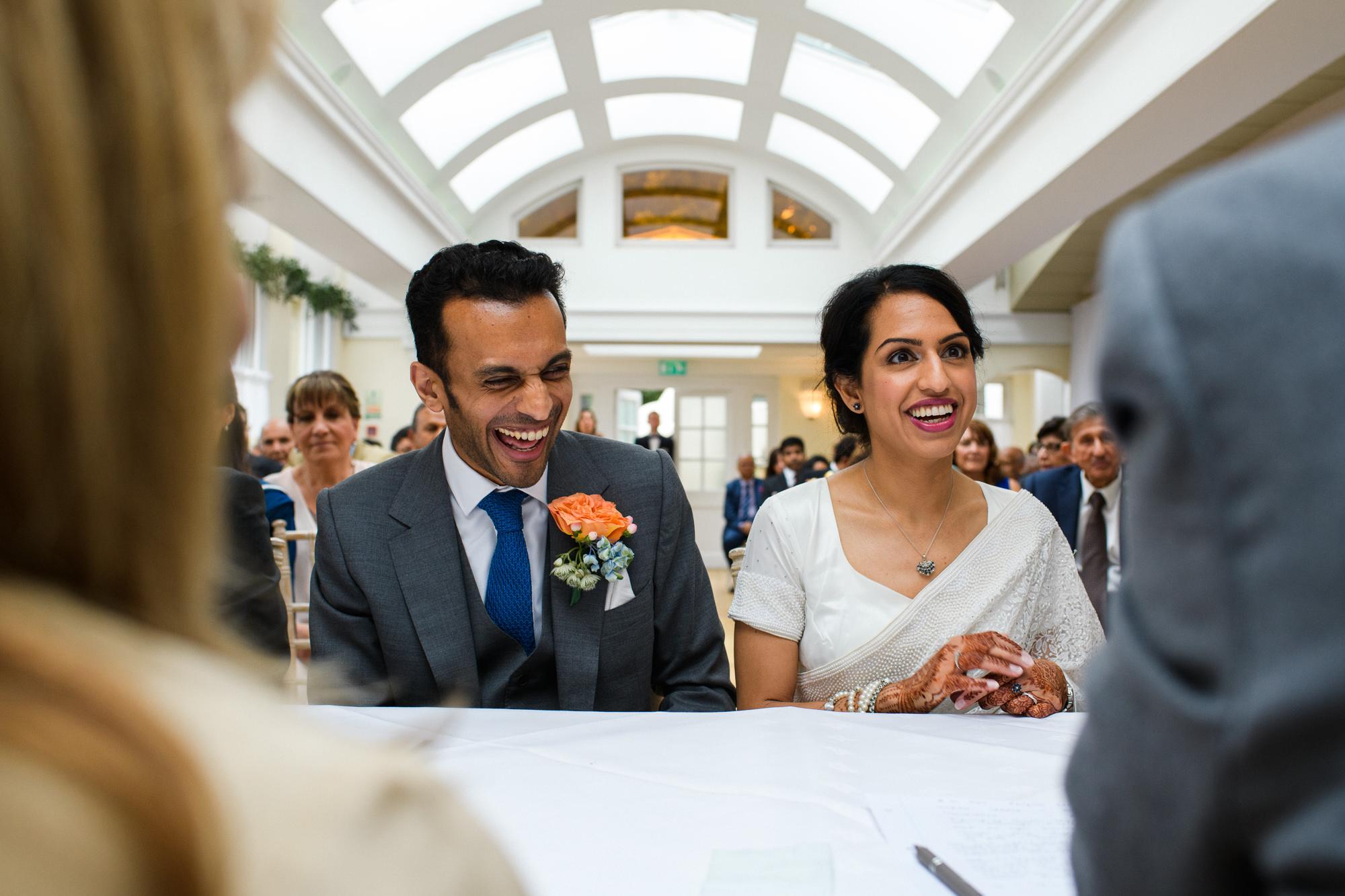 wedding photographer Pembroke lodge