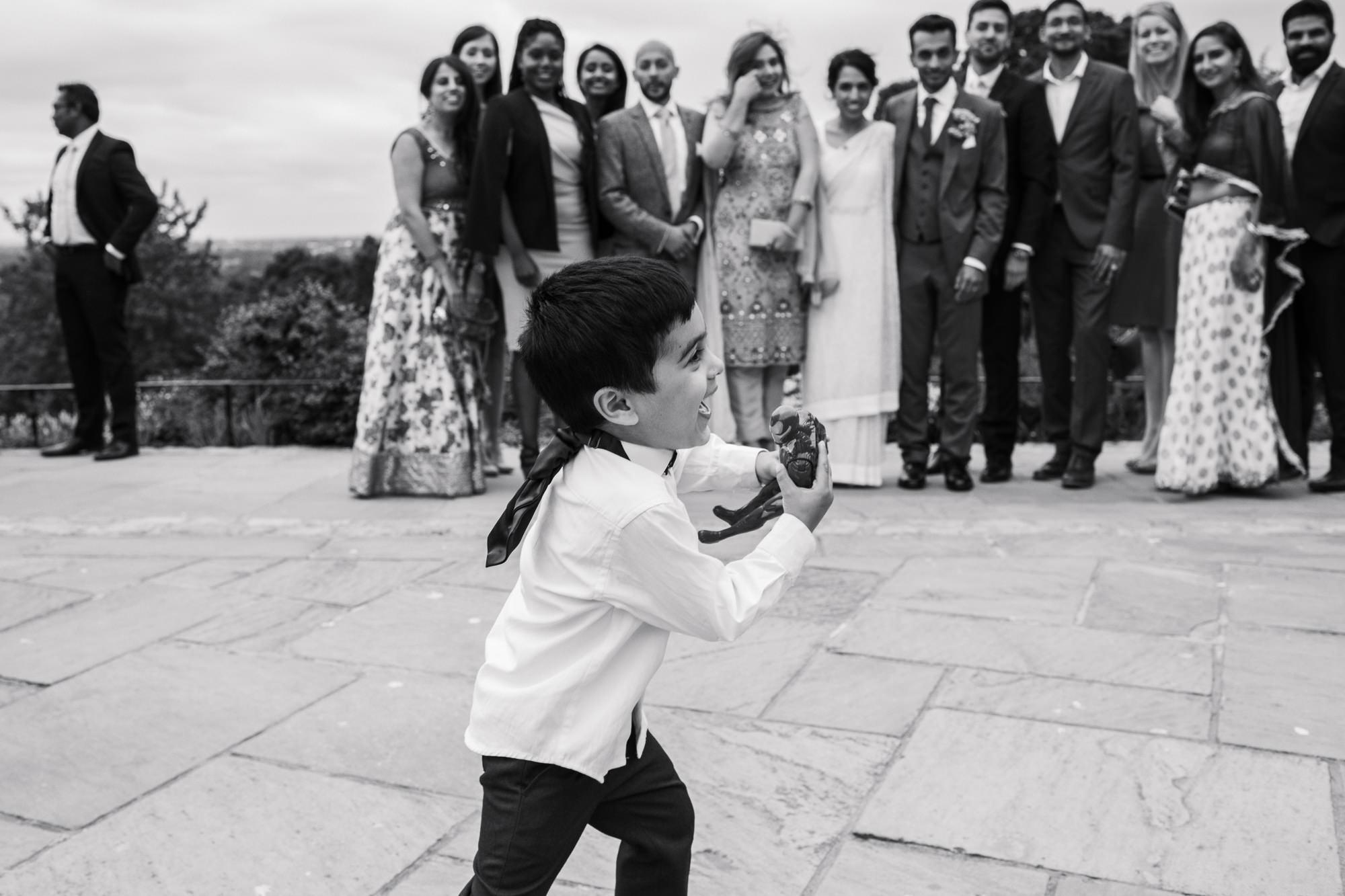 Pembroke lodge wedding reception photography