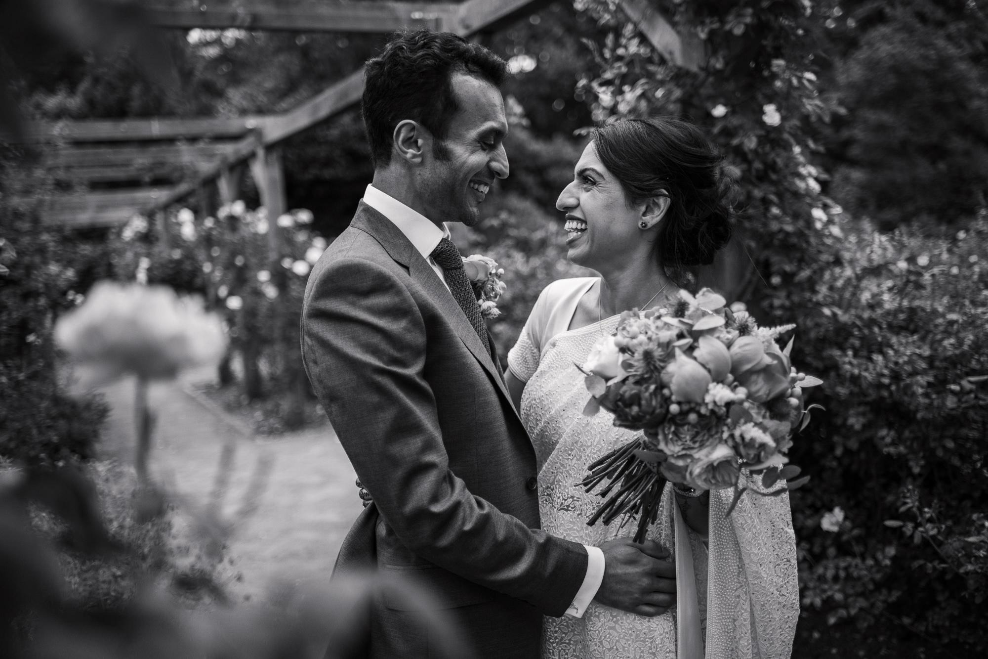 Natural Pembroke lodge wedding photography