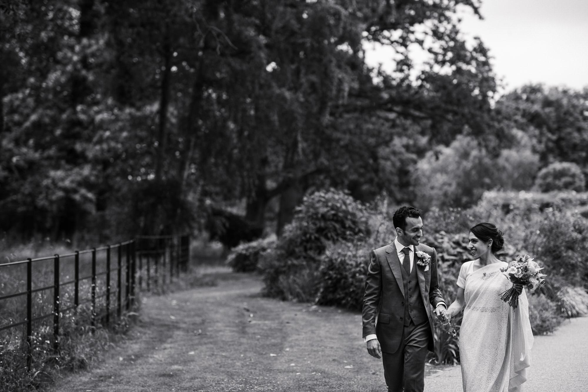Pembroke lodge Bride and Groom